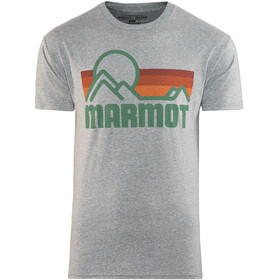 Marmot M's Coastal SS Tee Ash Heather